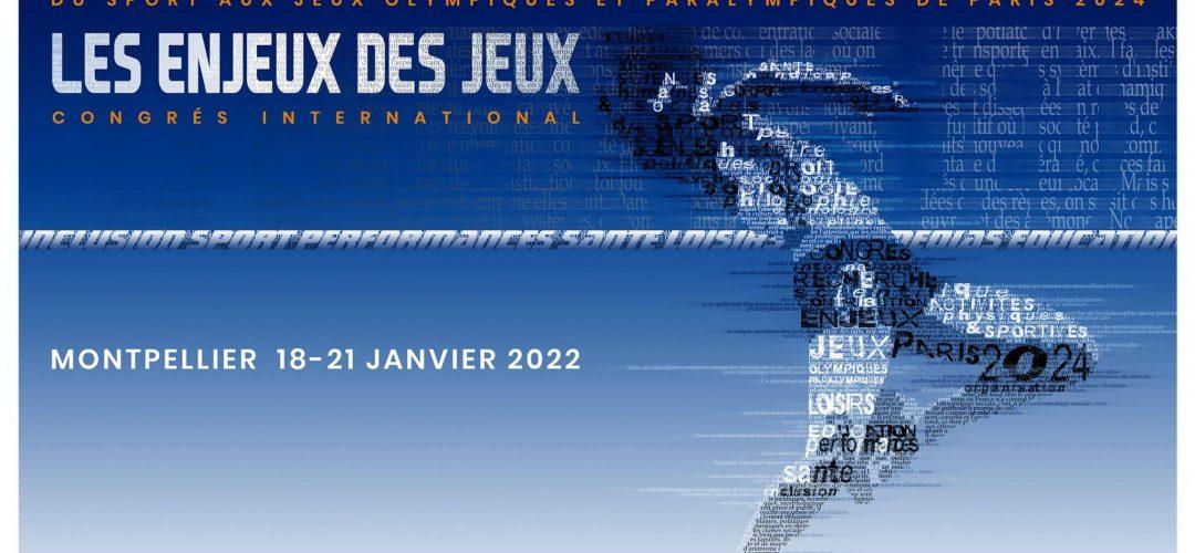 SaveTheDate_Les Enjeux des Jeux_Montpellier 2022
